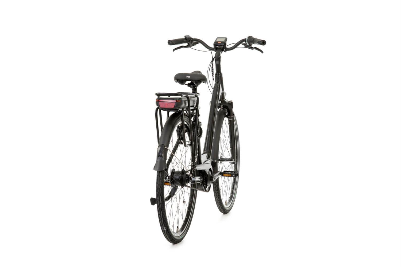 Met de robuuste bagagedrager op de Huyser Gen Belt kunt u met gemak tot 25kg bagage mee sjouwen. Boodschappen doen met deze robuuste fiets is geen enkel probleem.