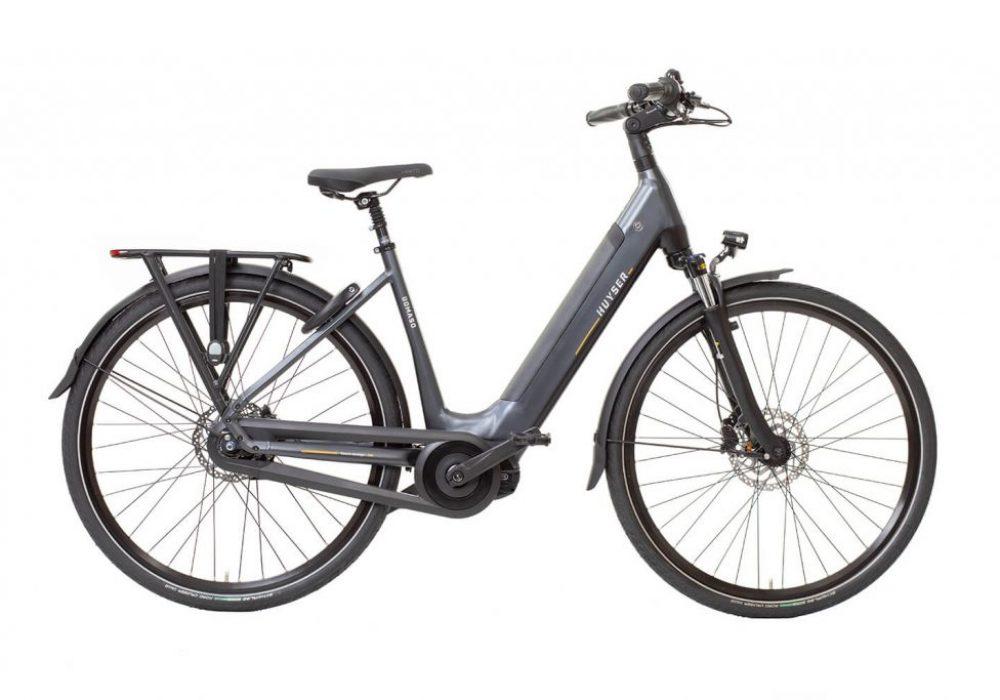 Huyser elektrische fiets Domaso D nieuwe drager