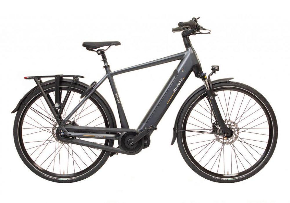 Huyser elektrische fiets Domaso H nieuwe drager