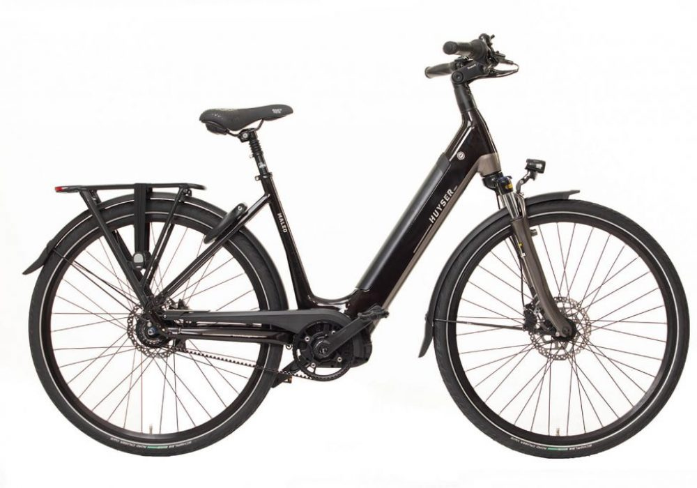 Huyser elektrische fiets Maleo Romantic Black nieuwe drager